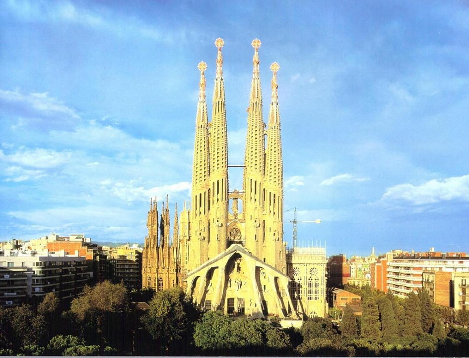 the sagrada familia 132 years later, barcelona's fantastical sagrada família is approaching the last stage of its construction.